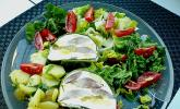 Matjesterrine mit Äpfeln und Gurken