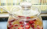 Erdbeer-Pfirsich Bowle