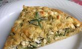 Schafskäse-Zucchini-Quiche