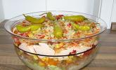 Daphnes schlanker Gyros-Schichtsalat