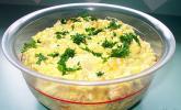 Reis-Schichtsalat