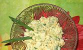 Eiersalat mit viel Grün