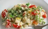 Reissalat mit Senf und Meerrettich