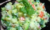 Bunter Frühlings-Reissalat