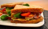 Amerikan Sandwich mit Pesto und Putenbrust - Sandwich´the´Maddi