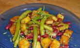 Erdäpfel-Bohnen-Pfanne