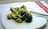 Folienkartoffeln mit Brokkoli - Sauerrahm - Dipp