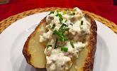Ofenkartoffeln mit Schmand