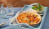 Kürbis-Raclettekuchen