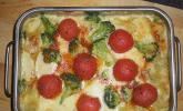 Brokkoli - Lasagne mit Rosmarintomaten