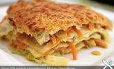 Wunderbare Spitzkohl - Möhren - Lasagne