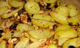 Nusskartoffeln aus dem Backofen