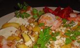 Mango mit Mozzarella