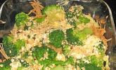 Kartoffel-Brokkoli-Auflauf mit Macadamiakruste