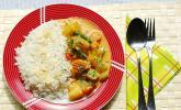 Süß-scharfes Kokos-Gemüse-Curry