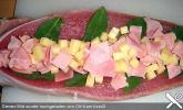 Gefülltes Schweinefilet in Salbeisauce