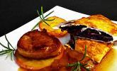 Schweinemedaillons mit Bratapfel - Honig - Sauce
