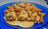 Cannelloni mit Krebs- & Krabbenfleischfüllung und feiner Garnelensauce
