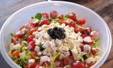Avocado-Ziegenkäse-Salat