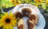 Marmorkuchen mit Mascarpone und Nougat