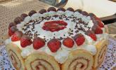 Erdbeer-Schmand-Torte