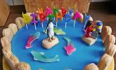 Schwimmbad-Torte