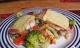 Saltimbocca auf gemischtem Gemüse à la Odenwald