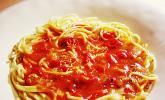 Extra scharfe Pasta à la Miss Emily Erdbeer