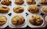 Lockere Apfel - Möhren - Muffins