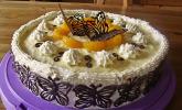 Karotten - Orangencreme - Torte