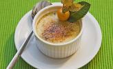 Menü 2 Nachspeise: Crème brûlée