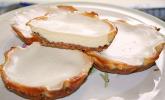 Luxury white chocolate cheesecake