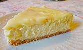 White Christmas Cheesecake - amerikanischer Käsekuchen
