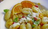 Gnocchi mit Ingwer - Orangen - Soße