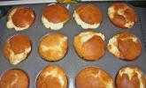 Rhabarber - Käsekuchen - Muffins