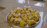Crêpes mit Pesto und Hähnchen