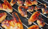 BBQ Chicken Wings Hot & Spicy