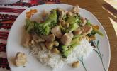 Brokkoli - Hähnchen - Wok