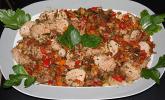 Carpaccio vom Lamm mit Ratatouille - Vinaigrette