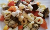 Tortellini mit Ratatouille aus dem Ofen