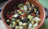 Lauwarmer Ratatouille-Salat
