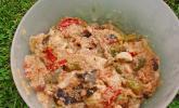 Amaranth-Salat