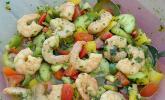 Kreolischer Garnelensalat