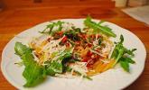 Spaghetti mit Rucola und Sardellen