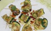 Zucchini-Sardellen-Röllchen