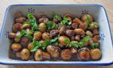 Antipasti - marinierte Champignons