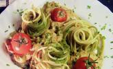Spaghetti mit Thunfisch - Sahne - Soße