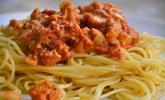 Fenchel - Thunfisch - Pastasauce