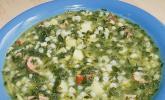 Grünkohl - Suppe