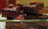 Schokoladen-Mandel-Schnitten
